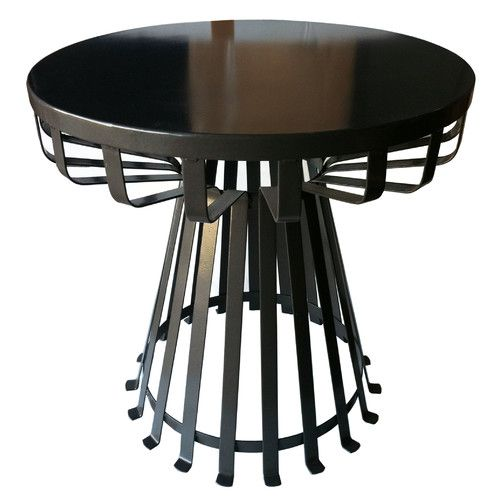 Epic Found it at AllModern Metal Iron Base Flat Side Table