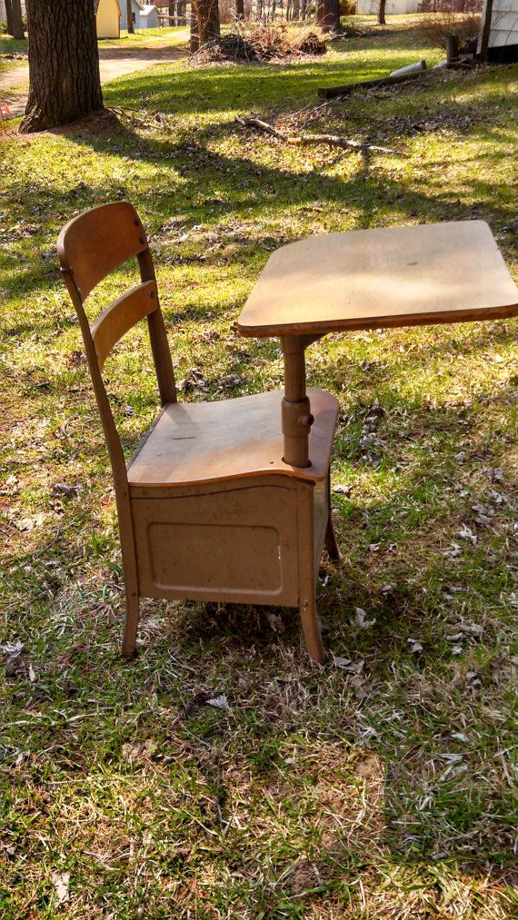 Vintage Irwin Seating Company Metal & Wood by AmericanHoneyUpcycle, $75.00