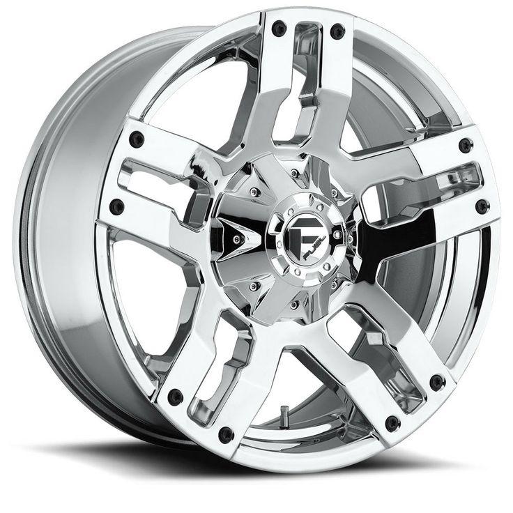 """Fuel Pump Wheel 20x9 8x6.5"""" ( 8x165.1 ) 20mm Offset PVD"""