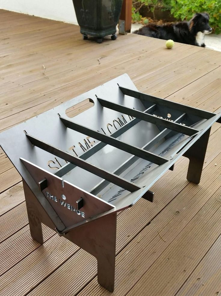 My Friend Bought This Collapsible Fire Pit Super Cool And