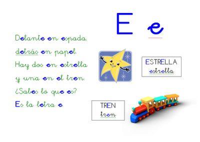 Poesía letra E