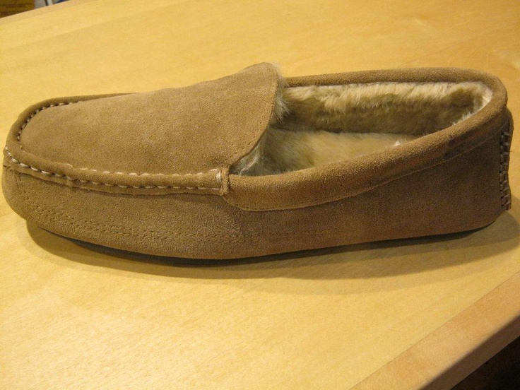 Loafer slippers from Cape Union Mart.