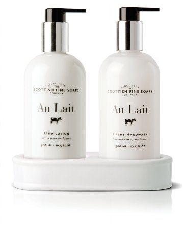 £16.75 for the bathroom. Scottish Fine Soaps Au Lait Caddy Hand Wash + Lotion: Amazon.co.uk: Beauty