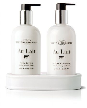 £16.75 for the bathroom. Scottish Fine Soaps Au Lait Caddy Hand Wash + Lotion: Amazon.co.uk: Beauty