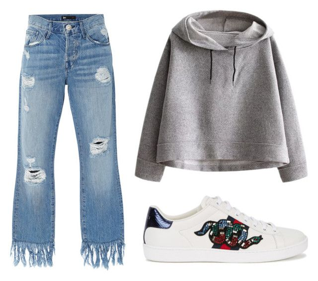 """smoochi"" by rubybeardwell on Polyvore featuring 3x1, Gucci and WithChic"