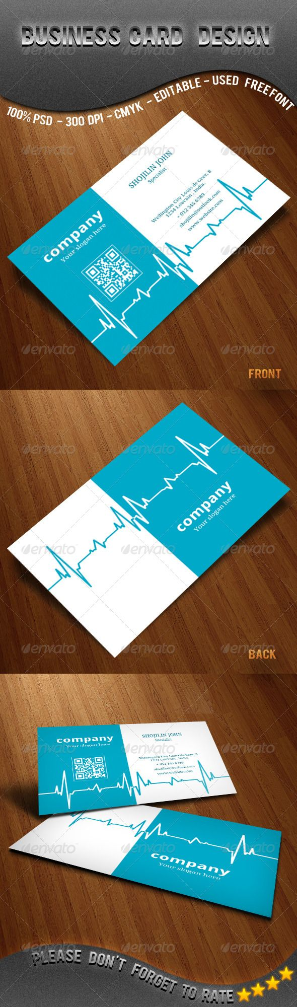 Doctors / Medical / business card . - Corporate Business Cards