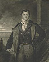 Sir Humphry Davy, 1830 engraving based on the painting by Sir Thomas Lawrence (1769–1830)