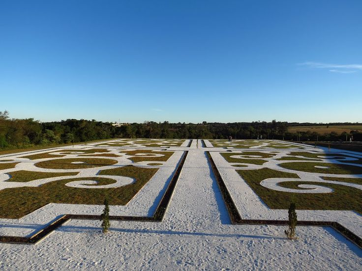 Jardins do Parque do Povo - Toledo/Paraná/BR. Foto de Ricardo Mercadante
