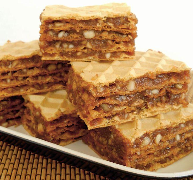 Napolitane cu caramel şi alune | Retete culinare - Romanesti si din Bucataria internationala