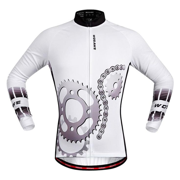 WOSAWE Polyester Cycling Jerseys Long Summer Breathable Racing Bicycle  Ciclismo MTB Bike Shirts 2015 Cycling Clothing f125bd212