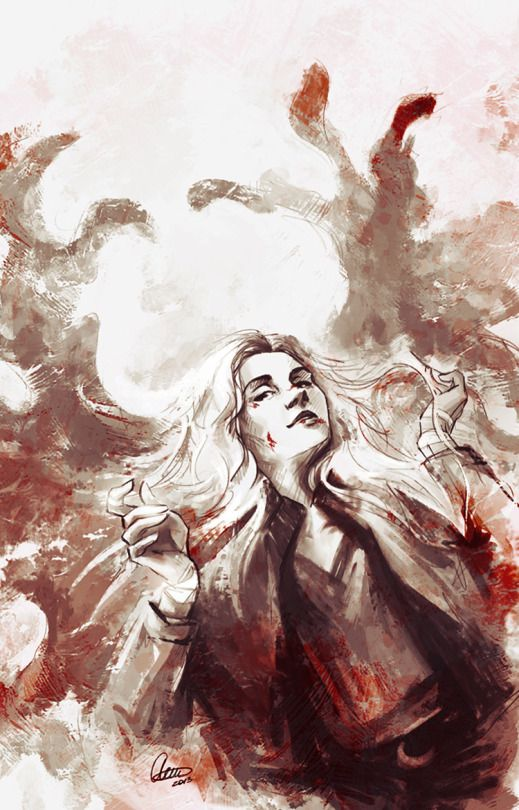 Supernatural fanart Meg Masters