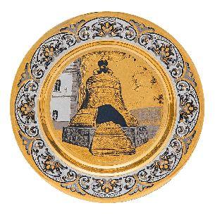 Тарелка подарочная Царь Колокол - Блюда с логотипом <- Корпоративное <- VIP - Каталог | Универсальный интернет-магазин подарков и сувениров