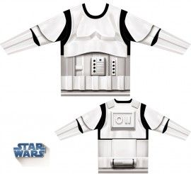Camiseta disfraz Stormtrooper de Star Wars para hombre