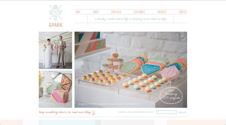 Spark :: Graphic design + blog design