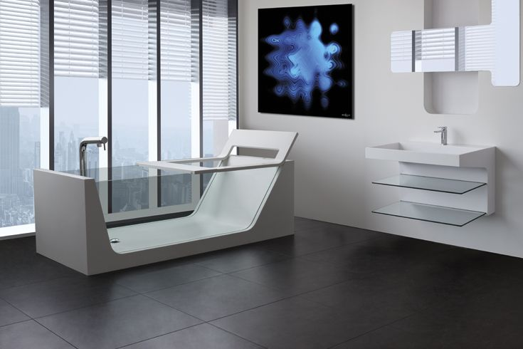 Love contemporary #bathroom?AVI is the #bath you are looking for