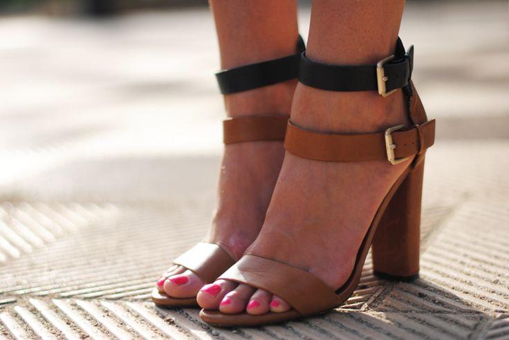 ZARA: Zara Sandals, Street Shoes, Street Style, You'Re Heels, Camels, Heels Polish, Zara Shoes, Shoes Tasting, Shoes 33