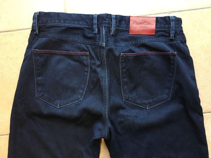 Robert Graham Mens Jeans Slim Jim Straight Leg Dark Blue Size 35 #RobertGraham #ClassicStraightLeg
