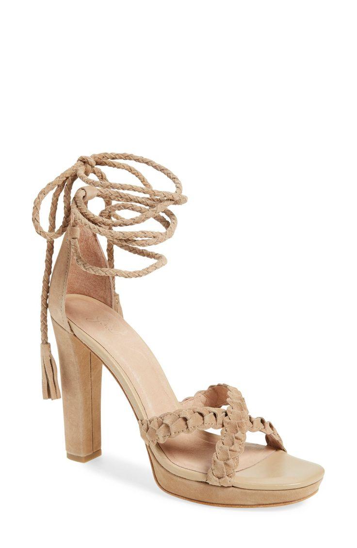 Joie 'Flo' Ankle Wrap Sandal (Women)