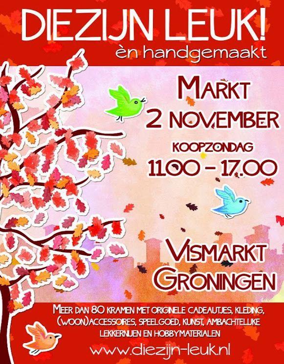 Google+ www.diezijn-leuk.nl Diezijn leuk én handgemaakt markt Groningen
