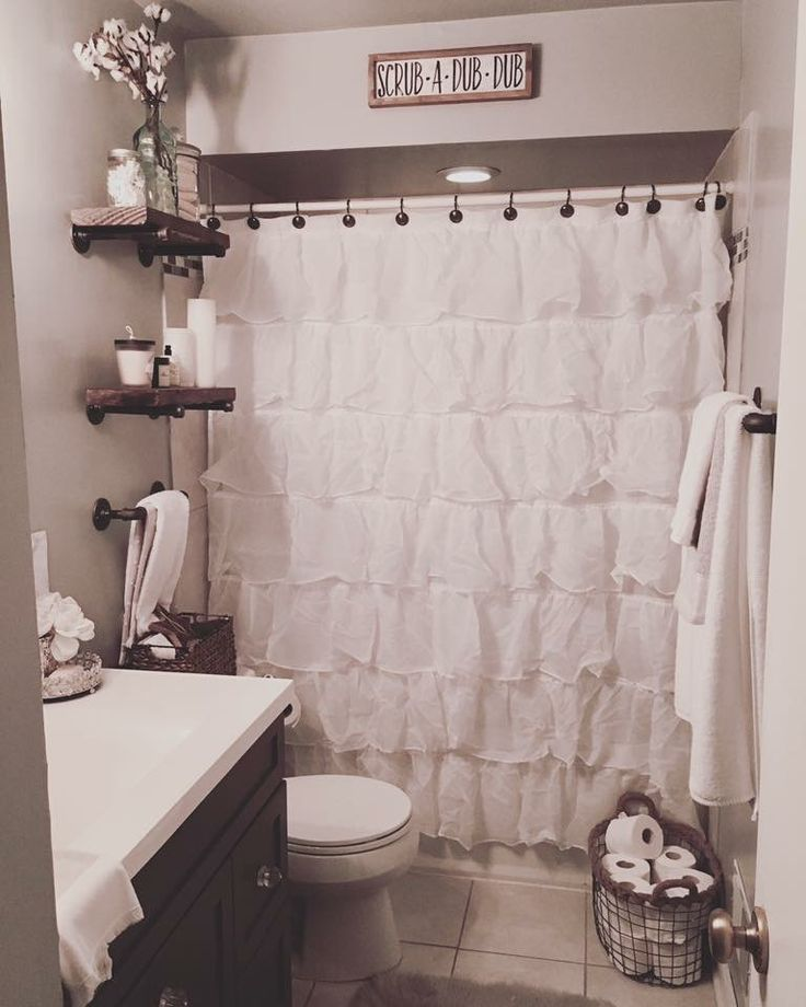 35 Awesome Small Bathroom Ideas For Apartment: Best 25+ Farmhouse Shower Curtain Ideas On Pinterest