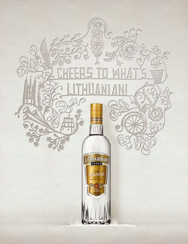 Lithuanian Vodka, Aurima Šandari, Lithuanian Recipe, Vodka Gold