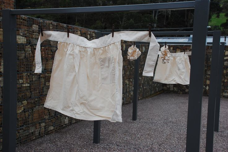 Laundry and sewing were undertaken as a source of work and income for women convicts