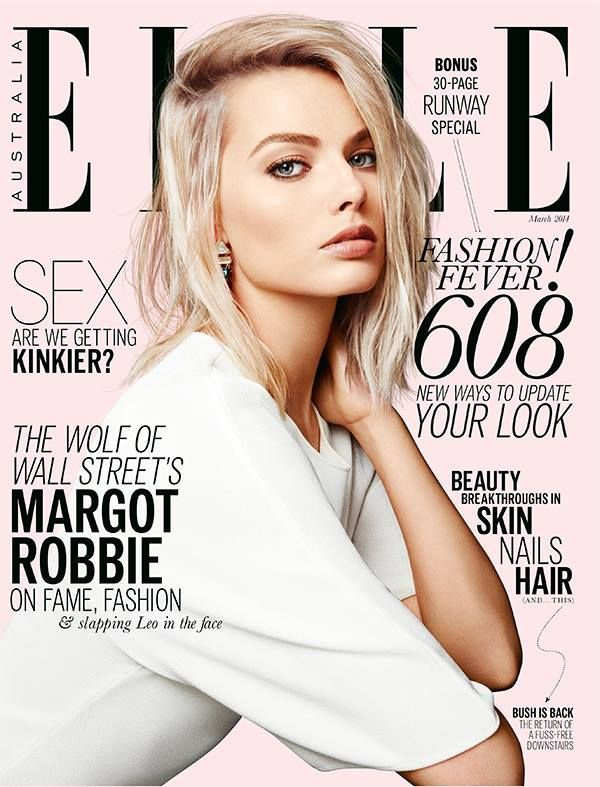 Margot Robbie - Elle Magazine Cover [Australia] (March 2014)