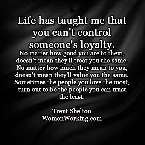 what does the word loyalty mean in a relationship