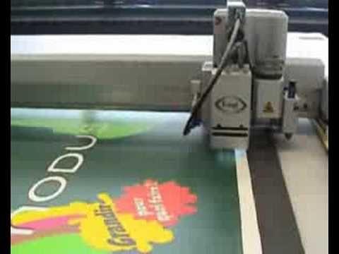 Digital Cutting Of Foam Board - YouTube