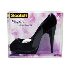 Dispensador en forma de zapato #Scotch