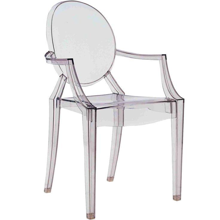 Louis Ghost stol, rökfärgad grå i gruppen Rum / Kök / Köksmöbler hos RUM21.se (101308)