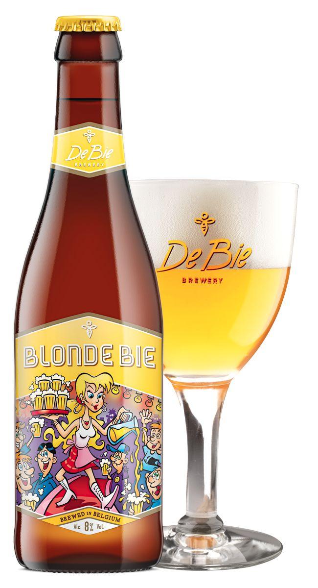 Blonde Bie - Brouwerij De Bie, gedronken bij loopvriend, verrassend lekker