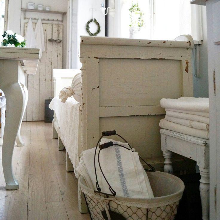 ... Slaapkamers op Pinterest - Franse slaapkamer decor, Vintage meubels en