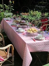 a beautiful tea party