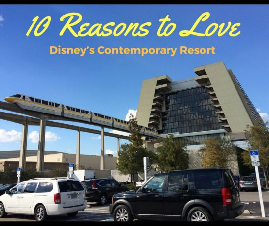Disney's Contemporary Resort is one of the original resorts located on Walt Disney World property when it opened in 1971. It is also known as the resort that has the monorail that runs right through it. Here are the top 10 reasons to love Disney's Contemporary Resort: