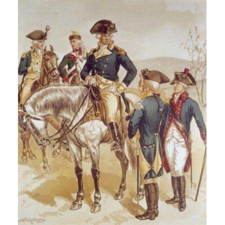 Comm-in-chief (Wash) Aide-de-camp Line Officers Ogden Henry Alexander (1856-1936American) Canvas Art - Henry Alexander Ogden (18 x 24)