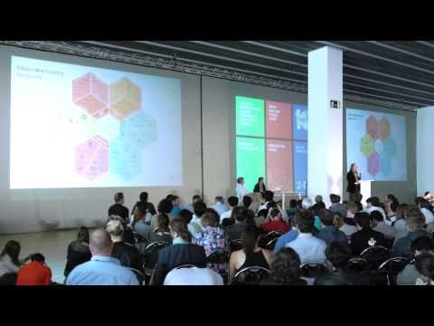 "Highlight of the ‪#‎FAB10‬ FabCity Symposium: Bruce Sterling's acid talk about ""Smart City States"". A very lucid warning to makers that hungry tech giants and politicians are coming after them"
