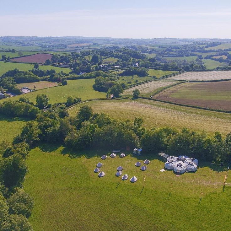 Summer is here!!  Fantastic day setting up the bell tents just outside Totnes. See our stories for behind the scenes shots