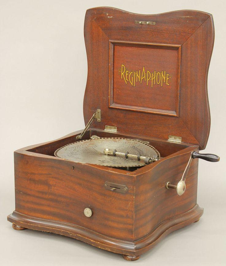 Reginaphone Music Box