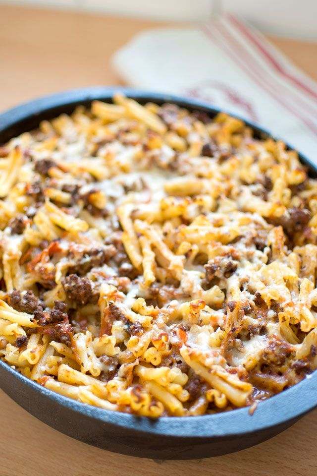 Recept på gratäng med pasta
