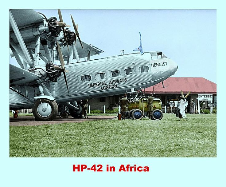 The Handley Page H.P.42 and H.P.45 were British four-engine biplane airliners designed to a 1928 Imperial Airways specification by Handley Page of Radlett in Hertfordshire.