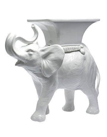 white ceramic elephant side table shapeyourminds com rh shapeyourminds com
