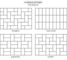 metro tiles pattern