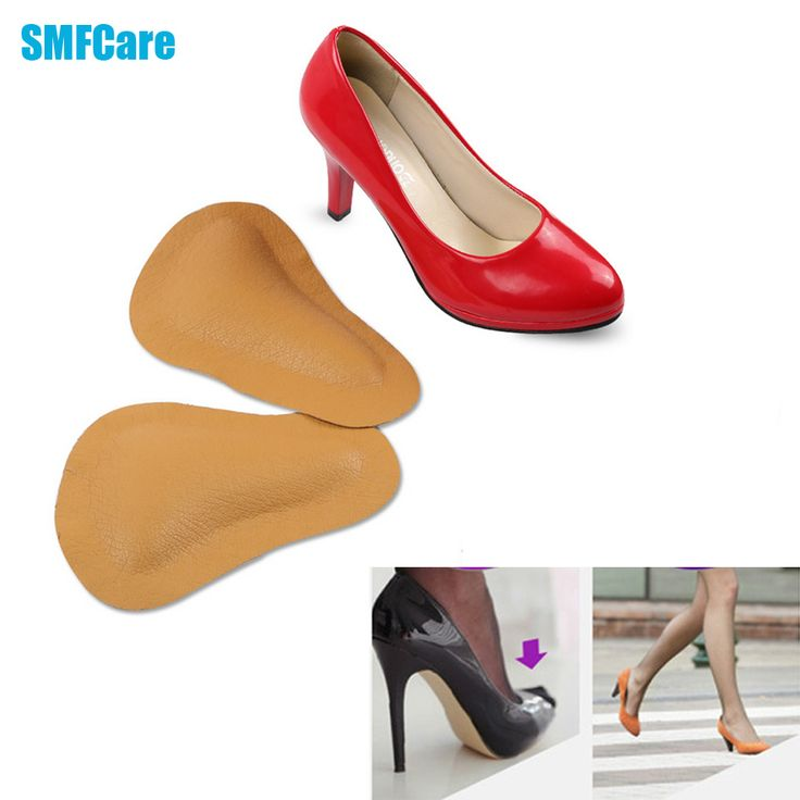 High-heeled Shoes Forefoot Pad leather Cushion Pad Orthotic Insole Half Yard Pad Foot Care Tools Metatarsal Toe Support Z28001