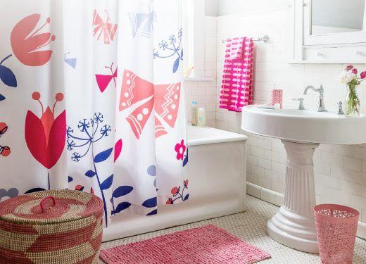 Violet bathroom!