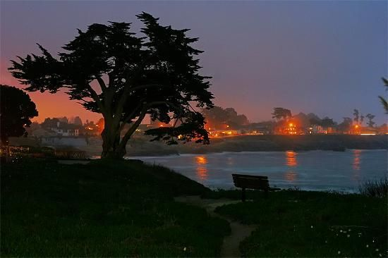 Santa Cruz, CA, one of the most beautiful places I've ever been - must get back there someday.