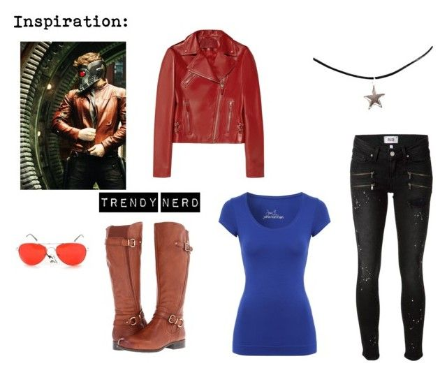 """""""Starlord Inspired Outfit"""" by trendy-nerd on Polyvore"""