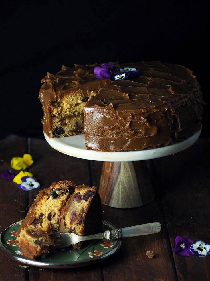 Sticky toffee cake - closely based on Tamal's Great British Bake Off show stopper! An indulgent, rich cake incorporating all the flavours of sticky toffee pudding!
