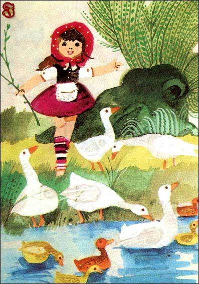 Eve Szelburg-Zarembina illustrated Zbigniew Rychlicki.