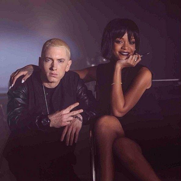 Rihanna and Eminem #Rihanna, #Eminem
